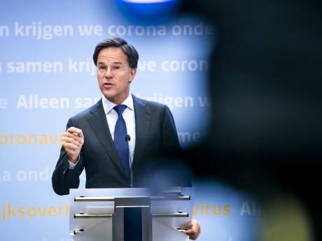 3,5 miljoen kijkers stemmen af op de waarschuwende vinger van premier Rutte