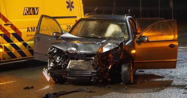 Drie gewonden door ongeluk met vrachtwagen in Waalwijk.