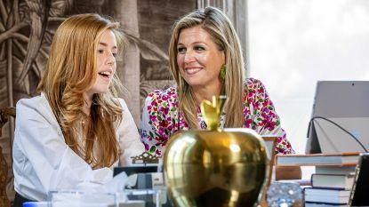 """Nederlandse prinses Alexia charmeert Nederland: """"Ons mama heeft heel veel werk, maar toch is ze er voor ons"""""""