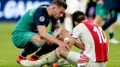 """Matchwinnaar Moura in tranen: """"Geen woorden voor"""" - Alderweireld: """"Hebben echt ons hart op het veld gegeven"""""""