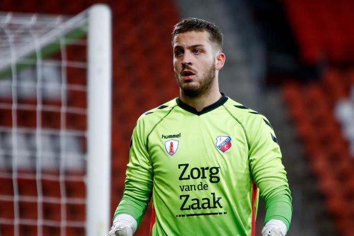 Menno Heus in zijn tijd bij Jong FC Utrecht.