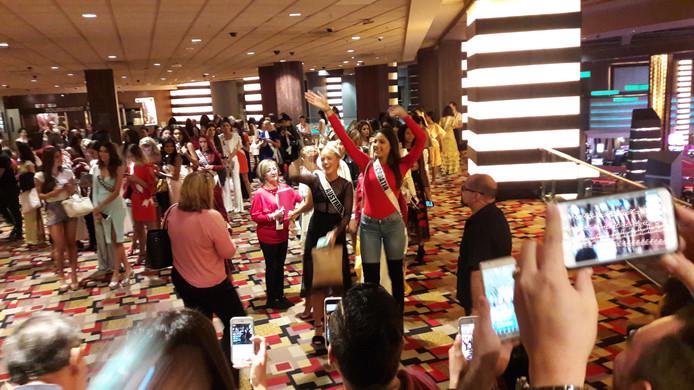 Missenparade In Las Vegas Nog één Dag Voor Nicky Uit Handel