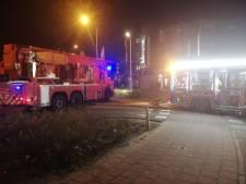 Twee auto's in brand in ondergrondse parkeergarage Spijkenisse