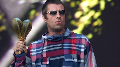 Oasis-zanger Liam Gallagher in 'MTV Unplugged'