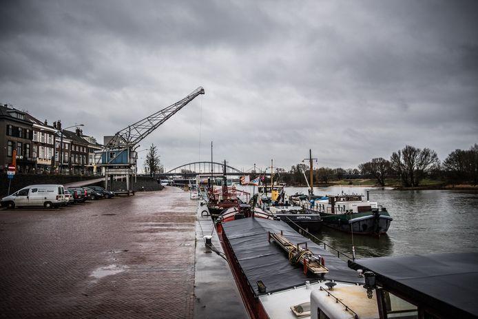 De Rijnkade in Arnhem.