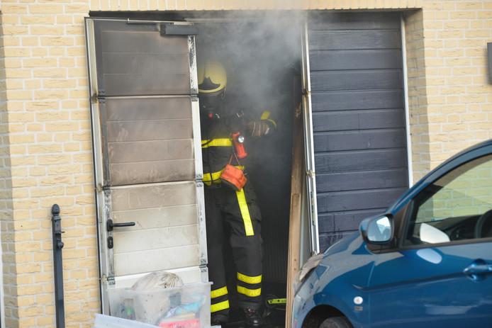 Brand aan Lisdodde in Breda.