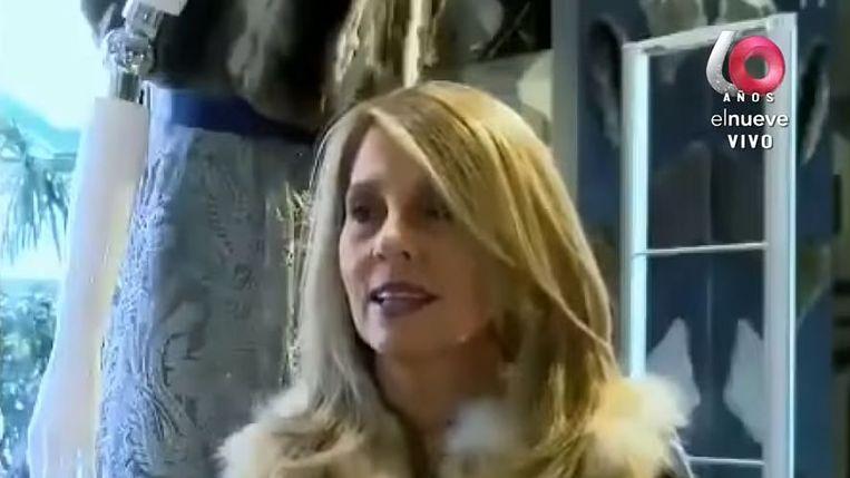 Carmela Hontou, de Uruguayaanse jetsetter die verantwoordelijk wordt gehouden voor de helft van de coronabesmettingen in het Zuid-Amerikaanse land.