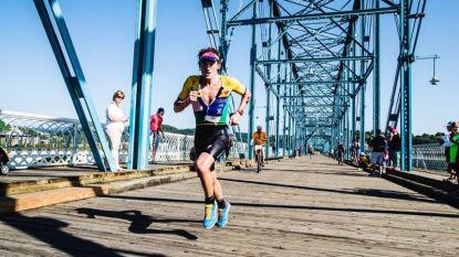 Wereldrecordhouder Ironman brak zes maanden geleden zijn nek, maar maandag staat hij gewoon aan de start van de marathon van Boston