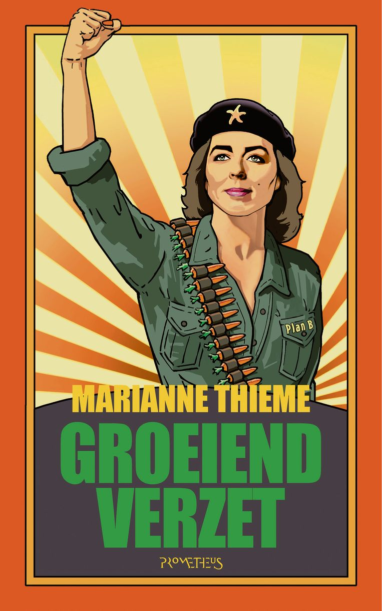 De omslag van Groeiend verzet van Marianne Thieme. Beeld null