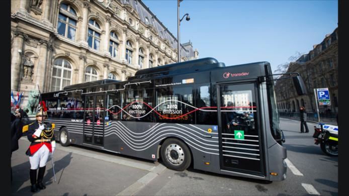 Ebusco scoorde eerder dit jaar een order voor acht bussen voor Parijs.