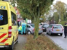 Automobilist gewond bij botsing in Boxmeer