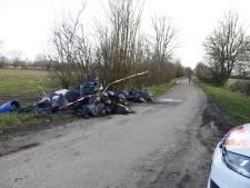 Wietafval gedumpt in buitengebied Boxmeer
