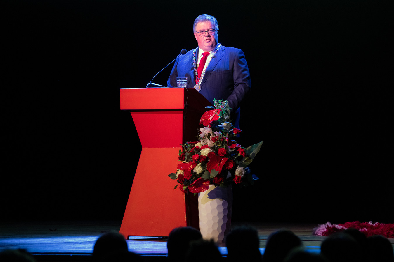 Burgemeester Hubert Bruls.