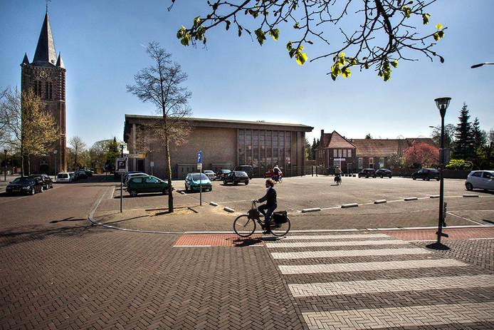 Kerkplein in Son en Breugel.