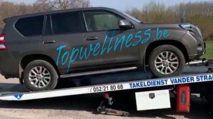 """""""Wie weet meer over onze gestolen wagen?"""" Auto van Topwellness  Hair & Beauty vorige week gestolen"""