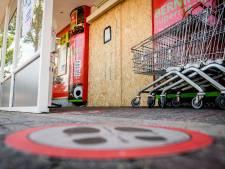 Supermarkt dichtgetimmerd na schenden coronaregels, Utrechter houdt inzamelactie