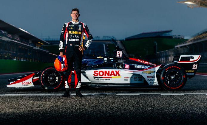 Rinus van Kalmthout is klaar voor zijn IndyCar-debuut