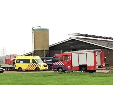 Bouwvakker raakt gewond tijdens werk aan verbouwing stal in Didam