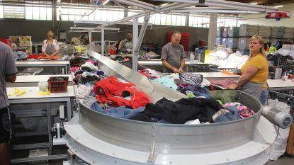 De Kringwinkel verwerkt dubbel zoveel textiel in nieuw sorteercentrum