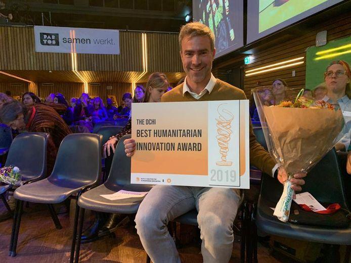 Architectenbureau DMOA ontvangt internationale prijs van beste humanitaire innovatie 2019