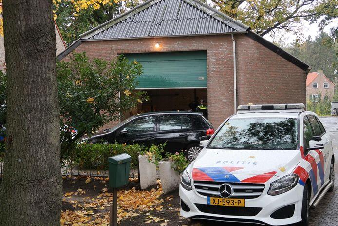 Chemicaliën aangetroffen aan de Sprundelsebaan in Breda.