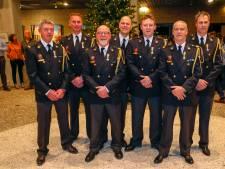 Zeven brandweerlieden uit Deurne en Neerkant geëerd voor moed en vakmanschap