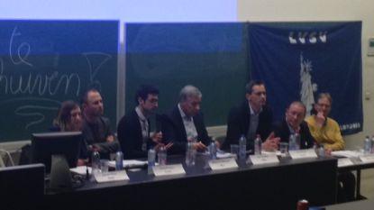 Betaalbaar wonen en circulatieplan hoofdthema's tijdens eerste Leuvens kiesdebat