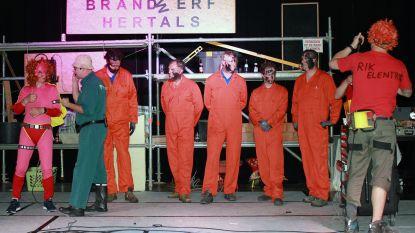 Vijf nieuwe Herentalse brandweermannen gedoopt door collega's