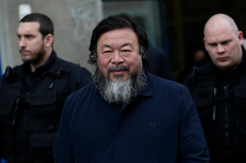 Ai Wei Wei in Praag.