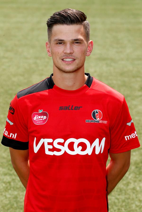 Bart Meijers in het shirt van Helmond Sport.