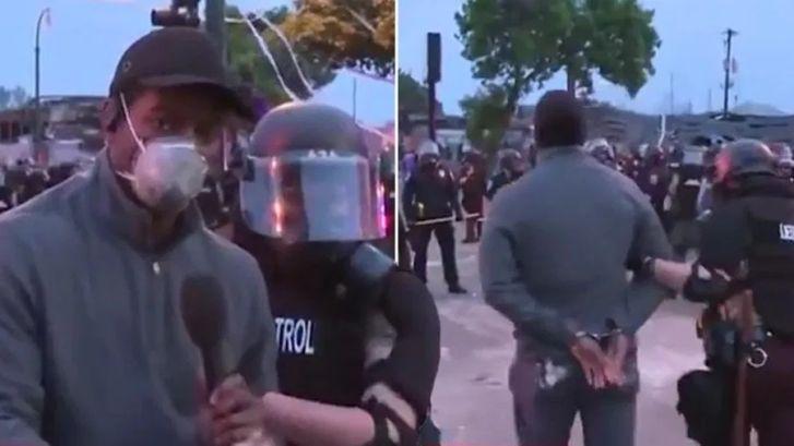 Un journaliste de CNN arrêté en direct par deux policiers lors des manifestations à Minneapolis