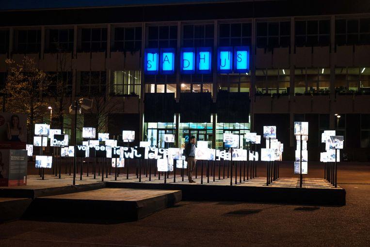 Op het Stadsplein staan letterlijk 90 Limburgse ondernemers in de spotlights.