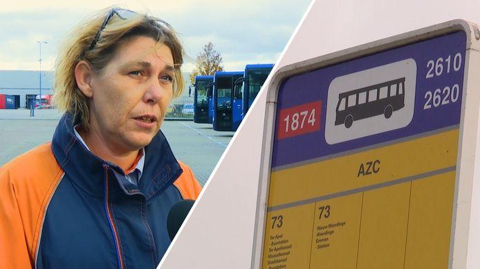 Overlast bij bushalte AZC Ter Apel