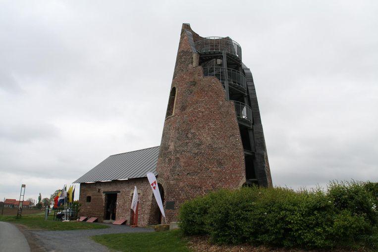 De Vredesmolen in Klerken is het eerste uitkijkpunt erkend door Westtoer.