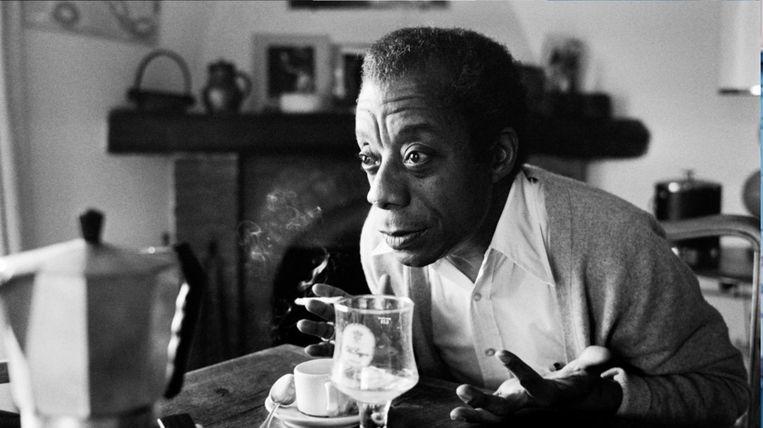 James Baldwin in The Welcome Table. Beeld James Baldwin