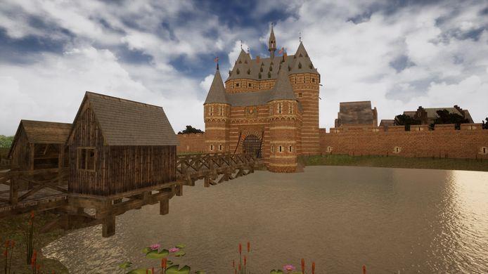In een game wandel je door Den Bosch rond 1500