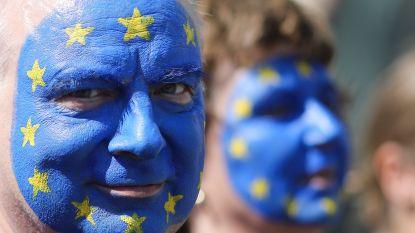 150.000 Duitsers betogen tegen nationalisme en voor Europese eenmaking