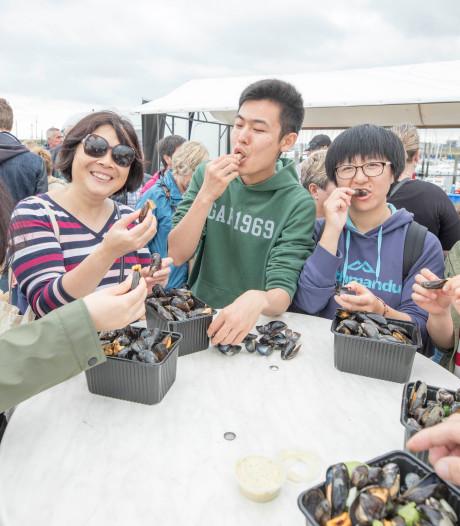 Mosseldag maakt van Yerseke een drukbezocht multicultureel centrum