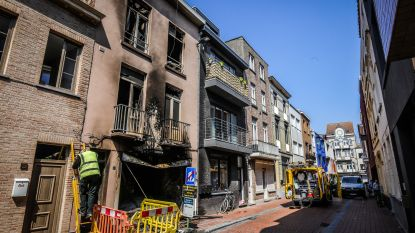 Zware brand in Nieuwstraat is aangestoken: nog geen verdachte opgepakt