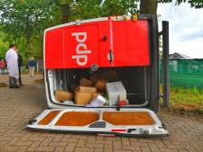 Pakketjes lopen vertraging op: DPD bezorgbus betrokken bij ongeval in Sterksel