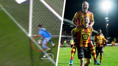 Storm bezorgt KV Mechelen volle buit tegen Oostende. Maar ging bal niet over de lijn na kopbal van Sylla?
