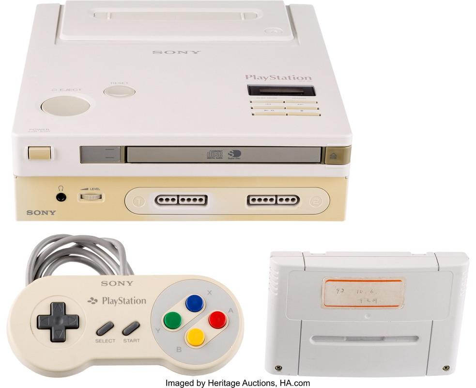 De unieke Nintendo Play Station.