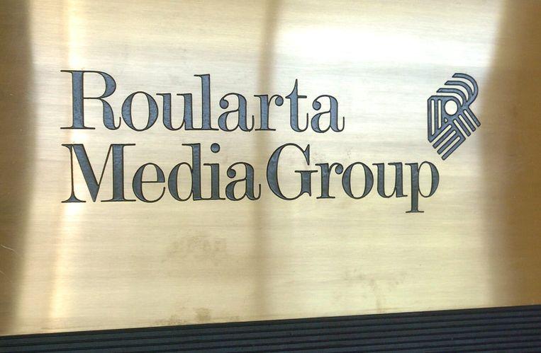 Het logo van Roularta.