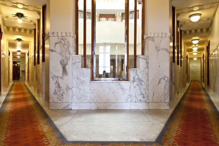 Interieur van het Amrath-hotel Beeld Roy Del Vecchio