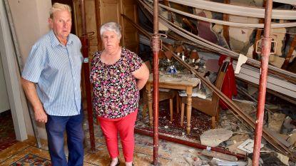 """Zeventigers wonen drie maanden na ongeval waarbij woning half instortte nog altijd tussen de brokstukken: """"Elke dag dat puin zien, doet pijn"""""""