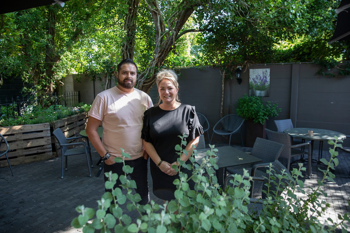Djailany en Kim van de Laarschot timmeren flink aan de weg met hun restaurant Nastrium.