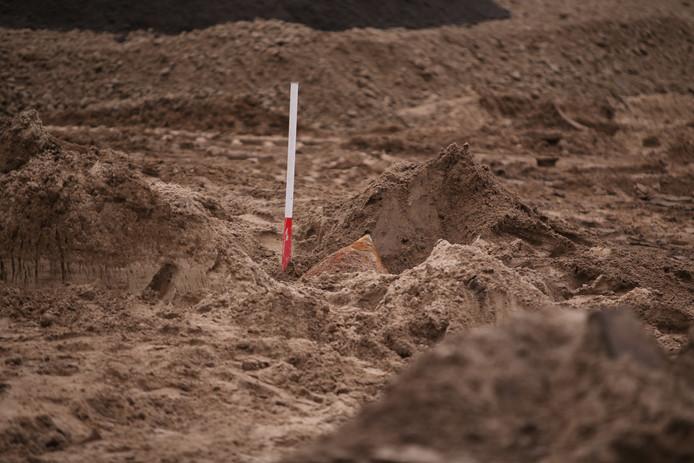Vliegtuigbom gevonden bij Lariksplein Den Bosch.