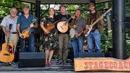 Folkband Stagecoach geeft optreden