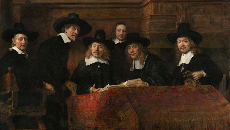 De Staalmeesters Beeld Rijksmuseum