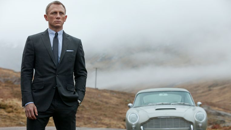 Bond in Skyfall.